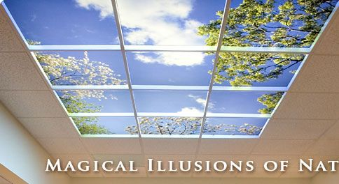 The Sky Factory Custom Ceiling Art Uses Tiles To Create Indoor For Home Pinterest And