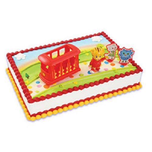Daniel Tiger Cake Decoration Cake Topper Neighborhood Trolley & Friends Set by LuvPersonalized on Etsy https://www.etsy.com/listing/455760378/daniel-tiger-cake-decoration-cake-topper