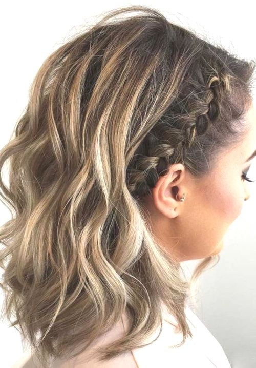 Medium Length Hair Cool Braided Hairstyles