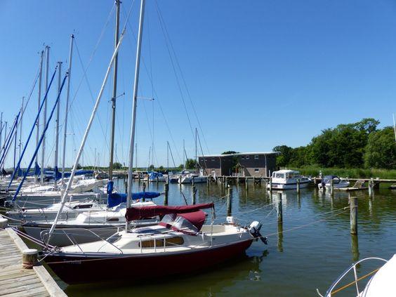 Naturhafen Krummin auf Usedom