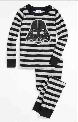 Hanna Andersson 'Vader' pajamas- for boys who live Star Wars ...