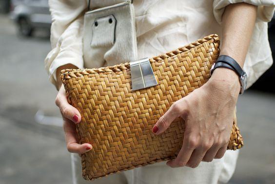 Hasır Çanta Trendi   Yaşam Tonu