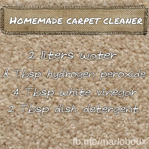 Diy Fabric Upholstery Cleaning: Homemade Carpet Cleaner. Reduce Your Family's Exposure To