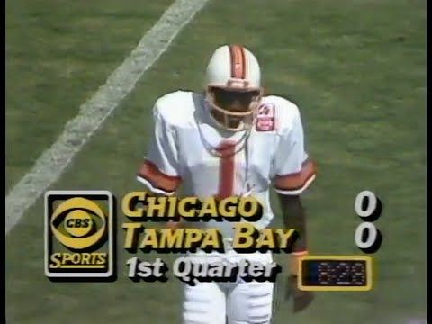 1985 Week 5 Bears Vs Buccaneers Youtube 1985 Chicago Bears Buccaneers