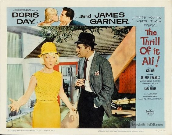 The Thrill of It All - Lobby card: