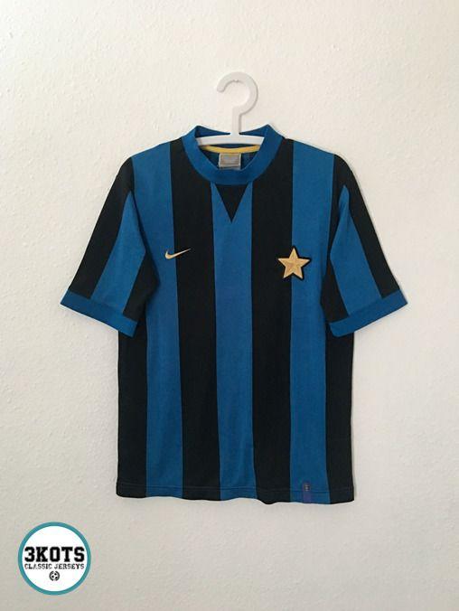 Inter Milan 70s Home Retro Football Shirt M Nike Vintage Soccer Jersey Nike Intermilan Retro Football Shirts Vintage Football Shirts Inter Milan