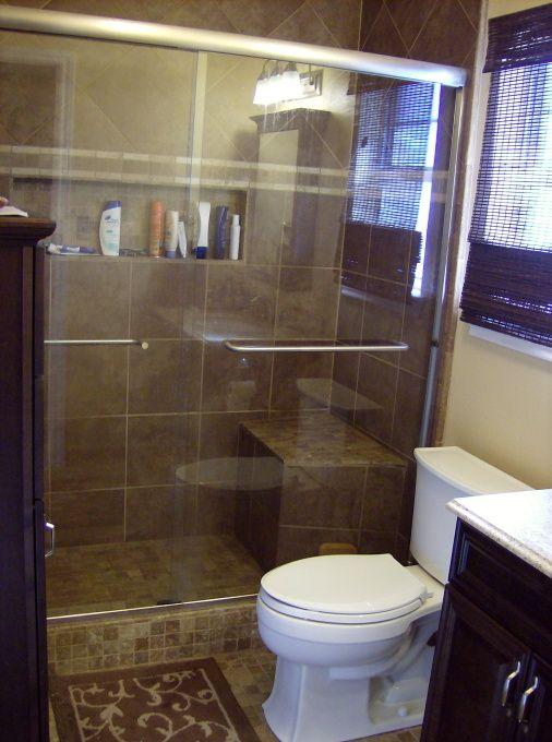 Contemporary Art Websites Small Master Bathroom Ideas Master bath makeover Bathroom Designs Decorating Ideas HGTV