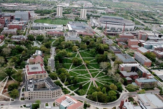 The Ohio State University Campus Birdseye View - I was there for the NBMBAA Leaders of Tommorow case competition a bunch of year ago
