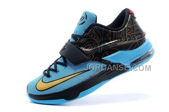 CHEAP NK KD 7 (VII) N7 PHOTO BLUE/BLACK-METALLIC GOLD-RED FOR SALE NEW ARRIVAL, Only$81.00 , Free Shipping! http://www.jordanse.com/cheap-nk-kd-7-vii-n7-photo-blue-blackmetallic-goldred-for-sale-new-arrival.html