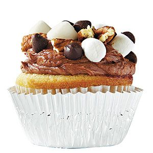 College Football Cupcakes | Tennessee: The Rocky (Road) Top | SouthernLiving.com