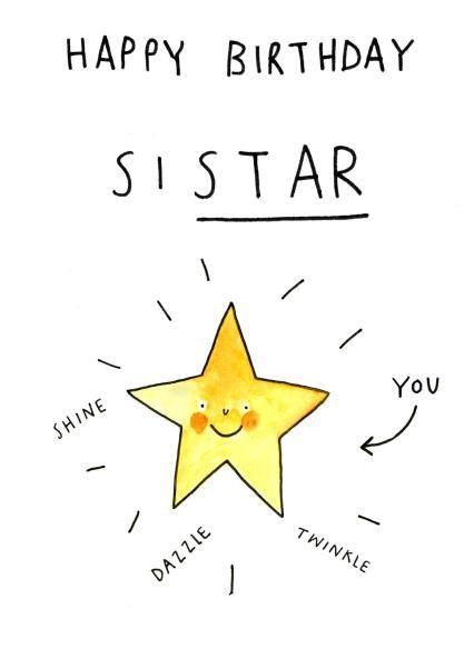 Thortful An Awesome Birthday Card From Jelly Armchair Sister Birthday Card Funny Birthday Cards Happy Birthday Sister