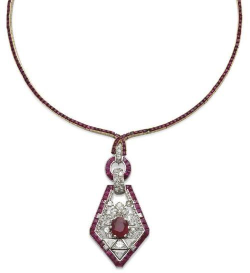 Necklace  Cartier, 1925  Christie's