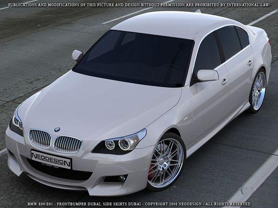 BMW E60 M-Look Bodykit Frontschürze Heckschürze Seitenschweller Stoßstange