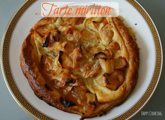 Tarte Mirliton Amandes-Mirabelles-Pommes
