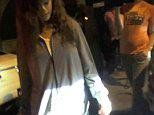 Rihanna leaves West Hollywood club in slippers and a jacket - http://goo.gl/TpGr0u