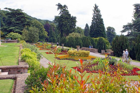 Tyntesfield Gardens by Slybacon, via Flickr: