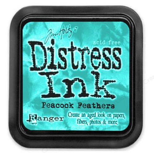 Encre aquarellable Distress - Plumes de paon