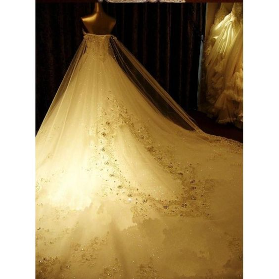 luxurious Wedding Dress