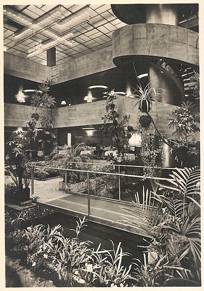 Haus Germania, Dachgarten: circa 1930