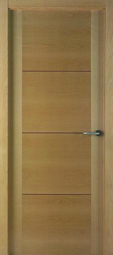 Puertas de madera modernas de eurodoor ofrece un extenso for Puertas madera interiores catalogo
