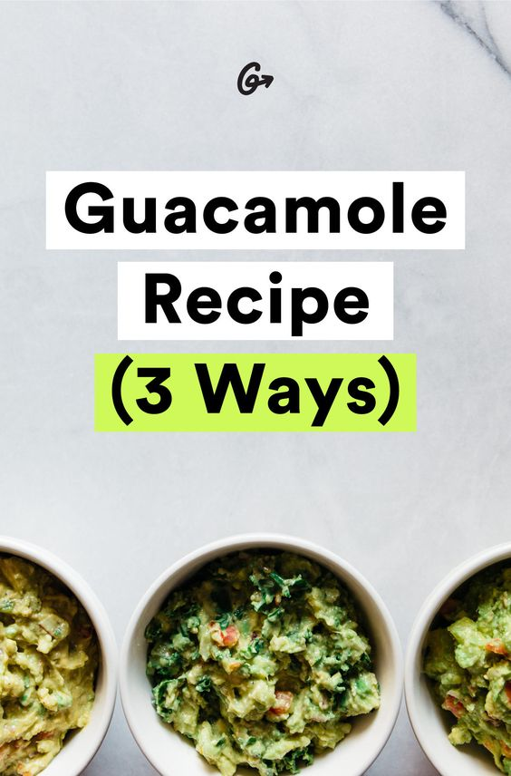 Guac this way. #greatist http://greatist.com/eat/guacamole-recipes-that-taste-even-better