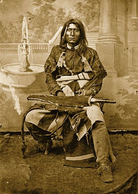 Kintpuash (Strikes the Water Brashly), also known as Captain Jack, was the leader of the Modoc tribe during the 1872-73 war.
