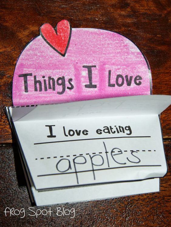 Things i love have your kids fill in the blanks i 39 ll for Great things to do for valentines day