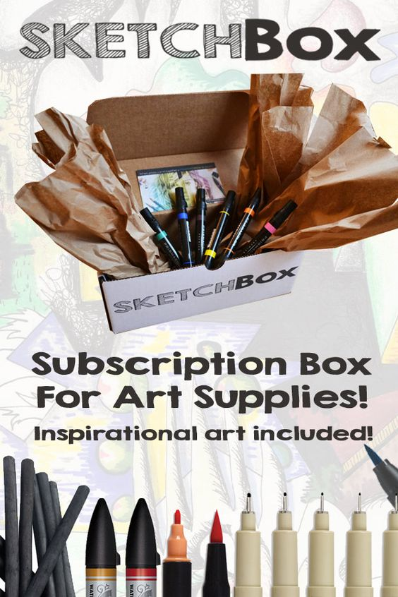 art subscription box professional supplies subscription boxes and 31288