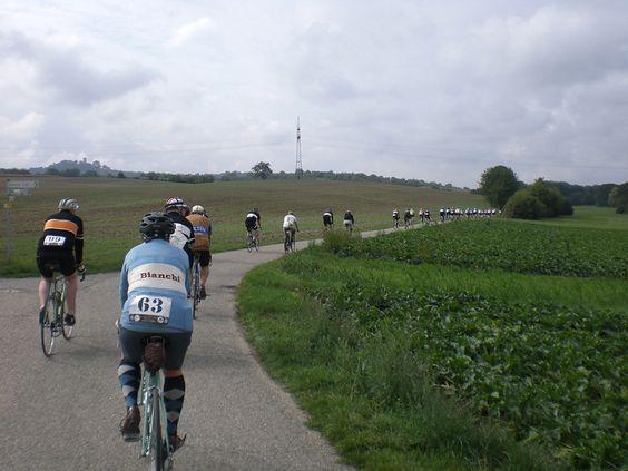 Tretro 2015, vintage cycling event, Sinsheim