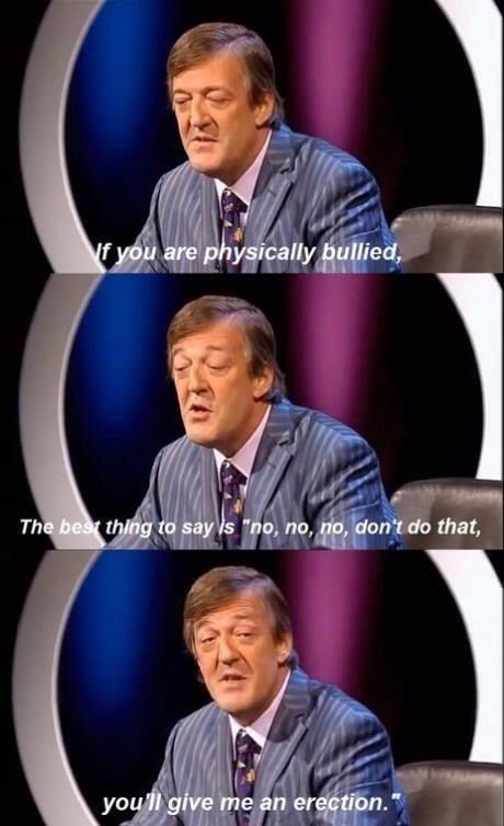 Stephen Fry has to be one of my favorite people