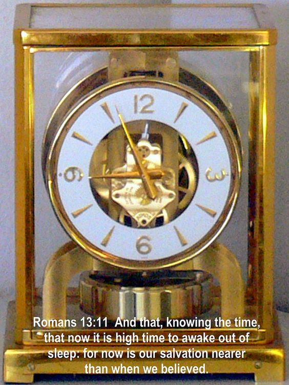 time of the signs - atmospheric clock - yes it runs on air - this one swiss made of course - most of my relatives  on my mothers side all worked in Swiss watch factories