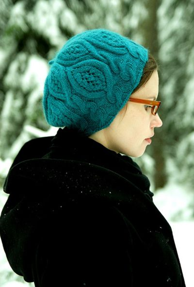 Aqua Blue Ladies hat