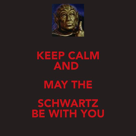Schwartz from Spaceballs! Daniel and I created this ...
