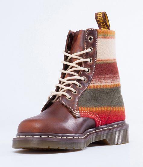 Schuhe & Handtaschen Dr Martens Vegan Castel Damen Stiefel