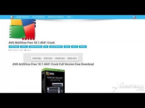free avg antivirus download full version with key