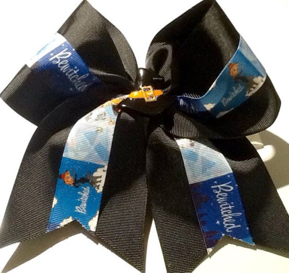 Bewitched inspired jumbo and mini hair bows by TnTCreations13 https://www.etsy.com/listing/206138068/bewitched-inspired-jumbo-and-mini-hair?ref=shop_home_active_12