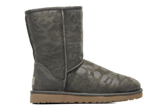 Ugg Australia Classic Short Leopard  - Stiefeletten & Boots bei Sarenza.de