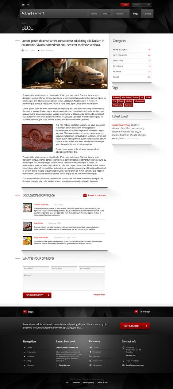 StartPoint - Design & Development businesses PSD T