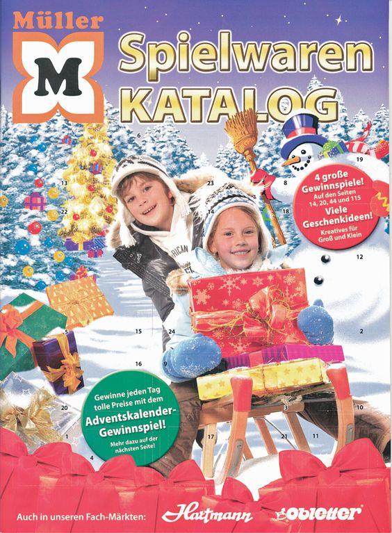 Adventskalender-Gewinnspiel bei Müller - Tolle Preise gewinnen