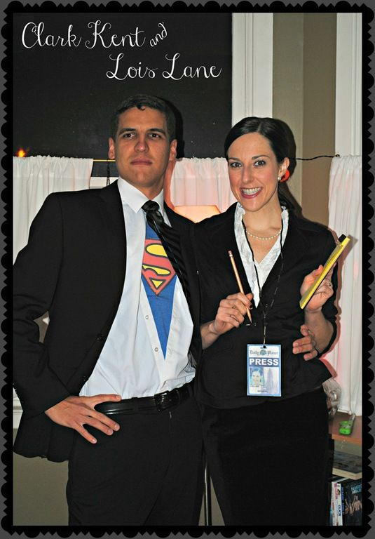 Easy couple halloween costumes, Clark kent and Couple ...