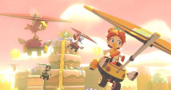 Daisy / Mario Kart 8 / Nintendo WiiU #MarioKart8 #WiiU #NintendoWiiU #MarioKart #Nintendo #Carreras #Cars #Speed #Races #Race