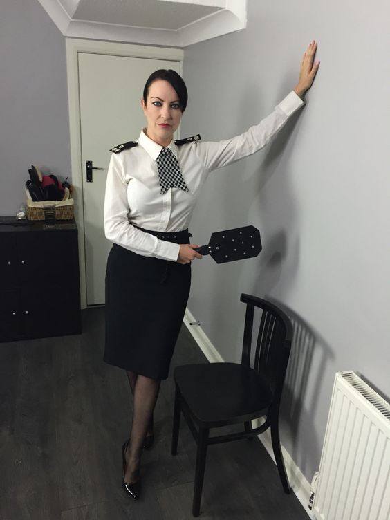 british police uniform fetish