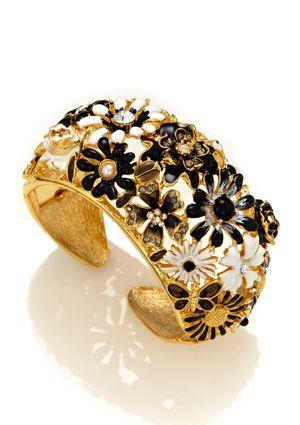KENNETH JAY LANE Flower Bracelet