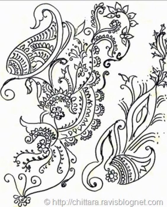 Flower Designs To Draw On Paper Printable Habit Tracker Bullet