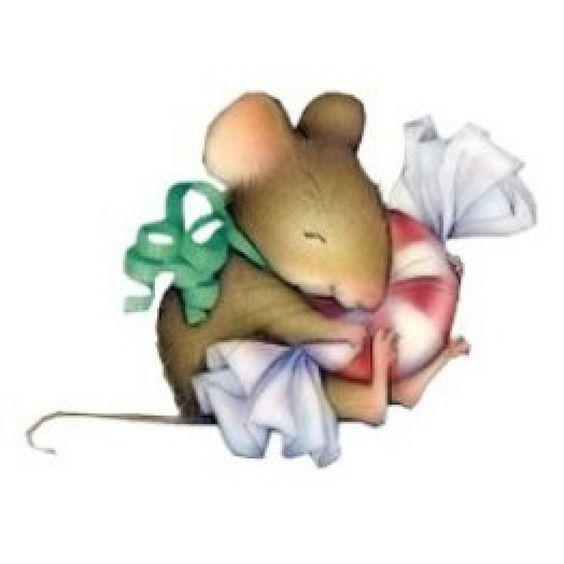 Cute christmas mouse