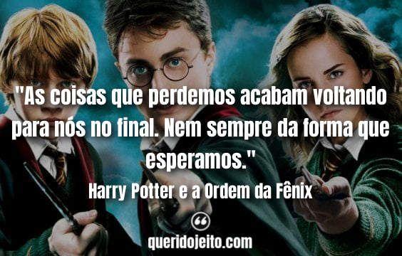 Frases Do Filme Harry Potter E A Ordem Da Fenix Frase Harry