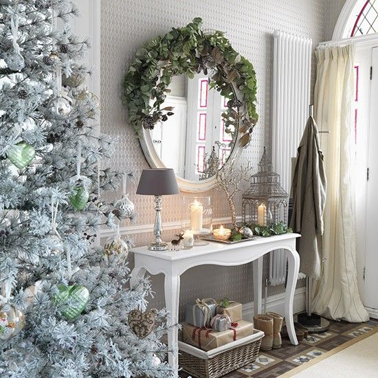 Hallway Decor Ideas Classy Hallway Design And Style Ideas: Modern Country Style: Ten Country Christmas Hallway Ideas