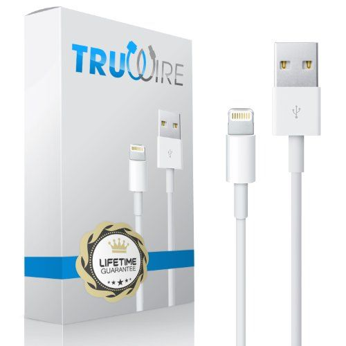 Truwire Lightning Cable to USB for Apple iPhone 5 / 5C / 5S, iPad Air, iPad mini, iPod Nano (7th generation) iPod touch (5th Generation) - Best Compatible Charger Cord for Data and Syncing - Guaranteed Wire to Work with iOS7 - Fits All Aftermarket Cases and Accessories - Long (3 ft. / 0.9 m) and Portable - Original 8 Pin connector on Lightning End - Fits All USB Car Chargers TruWire,http://www.amazon.com/dp/B00GUZ804W/ref=cm_sw_r_pi_dp_1sAstb0NXCRAQHF0