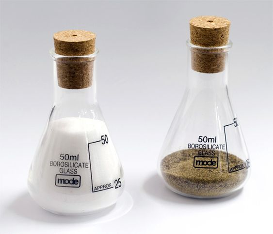 Earl Salt and Pepper, Oil and Vinegar Sets by Kevin Champion & Duncan Taylor for Mode Product Design
