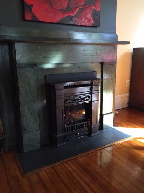 Vintage Style Fireplace Inserts And Stove On Pinterest